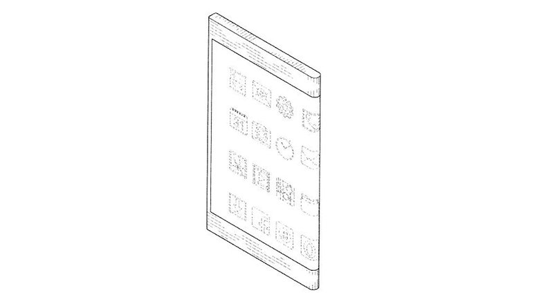 Samsung Bended Display Patent 4